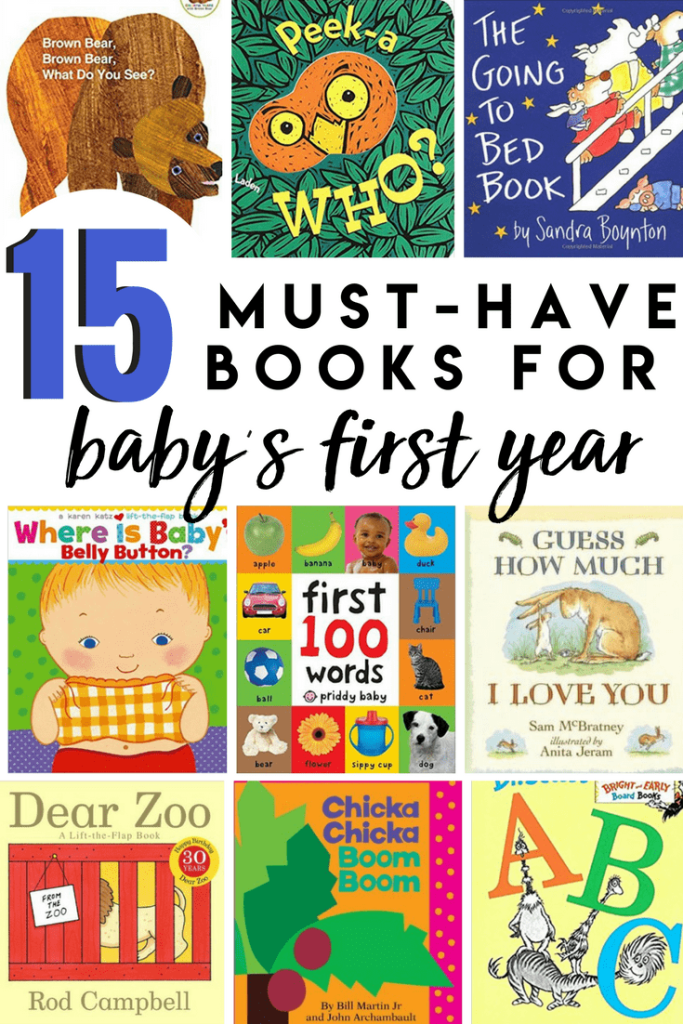 Building Baby's Library: 12 Must Have Books for Their First Year