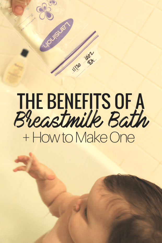 How to Make a Healing Milk Bath for Baby
