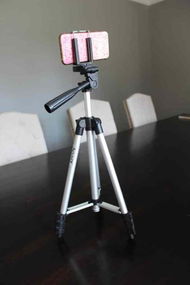 How to take better pictures with your iPhone- Use a tripod!