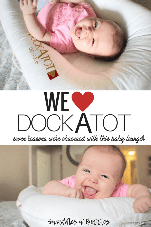 Dock A tot- 7 reasons we love this baby lounger!