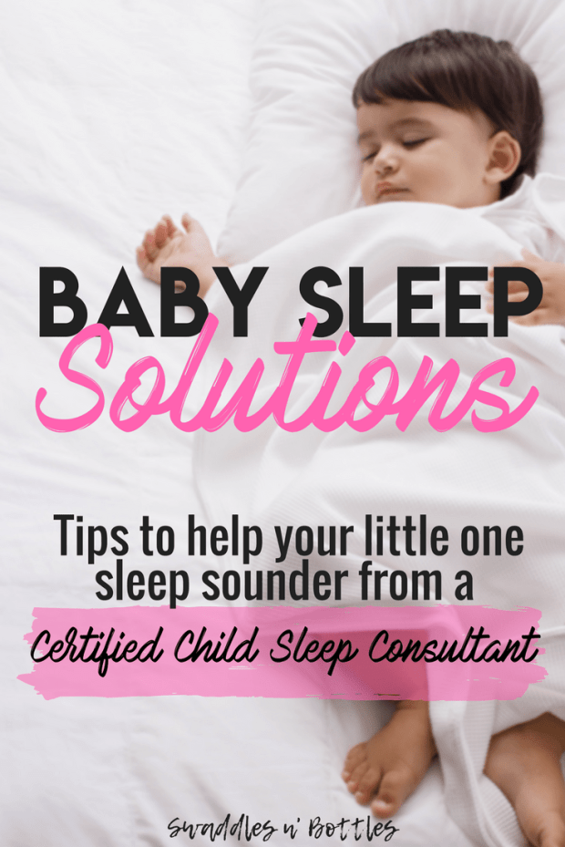 Tips to help your baby sleep through the night from a certified child sleep consultant.