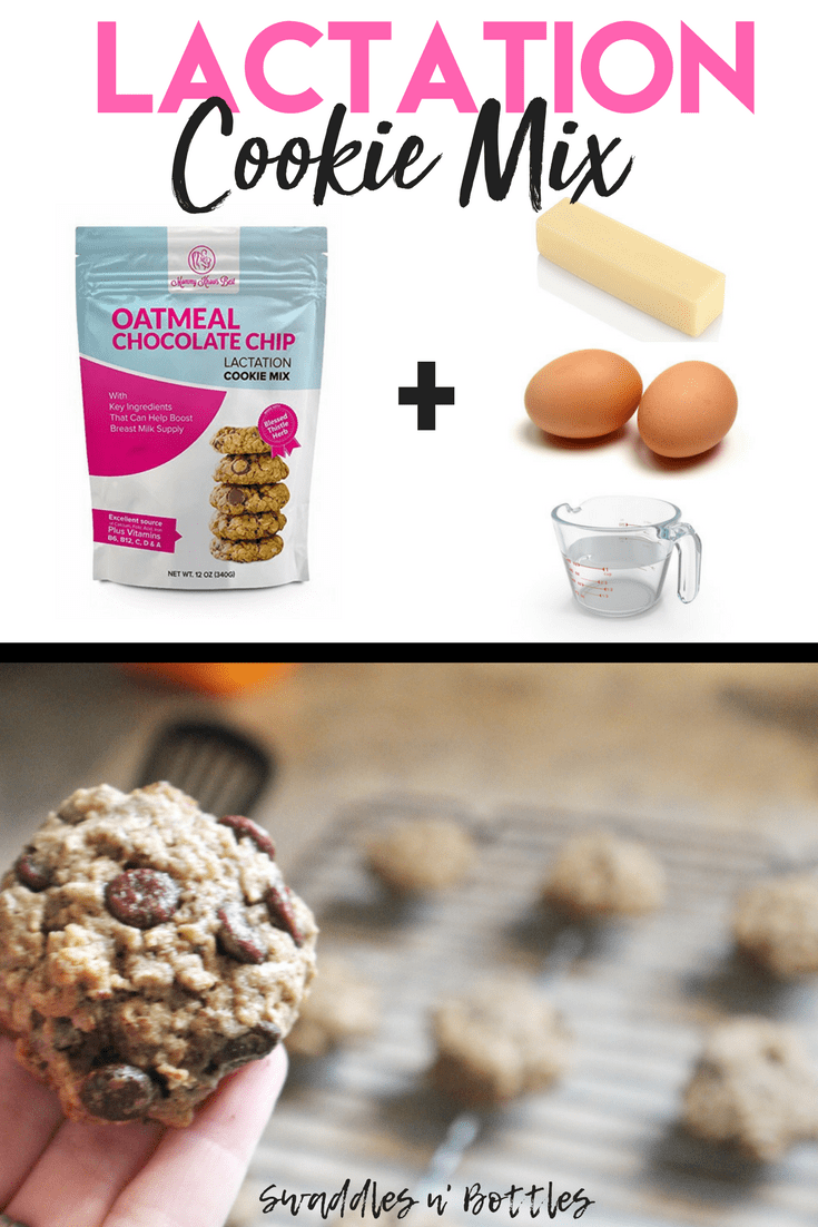 Lactation Cookie- Pre-made mix that includes all the must haves including flax seed. brewers yeast and blessed thistle! The easy way to make a sweet treat to increase your milk supply!
