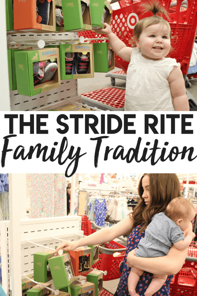 The Stride Rite Family Tradition