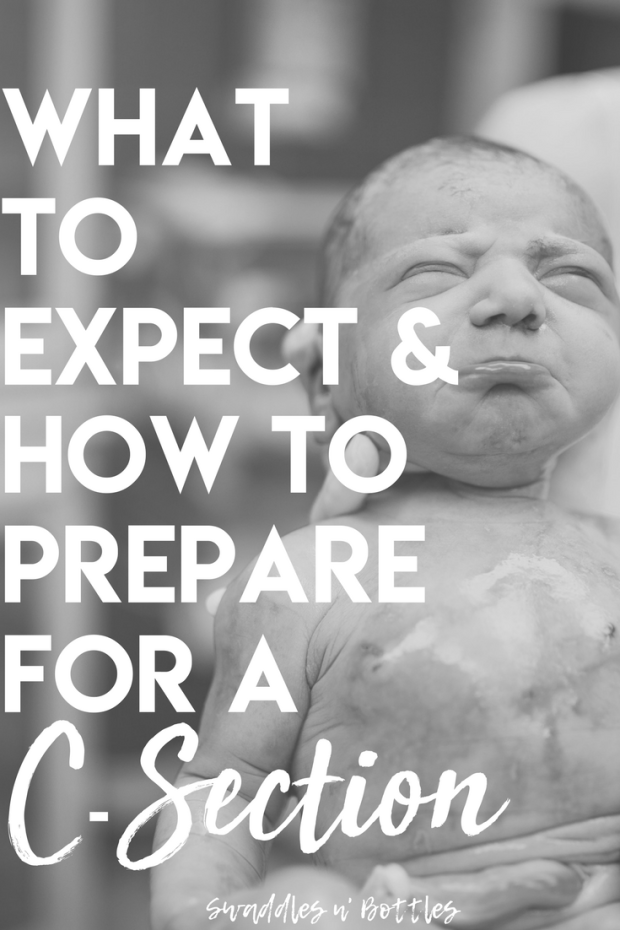 Preparing for a c-section- What to expect and how to prepare