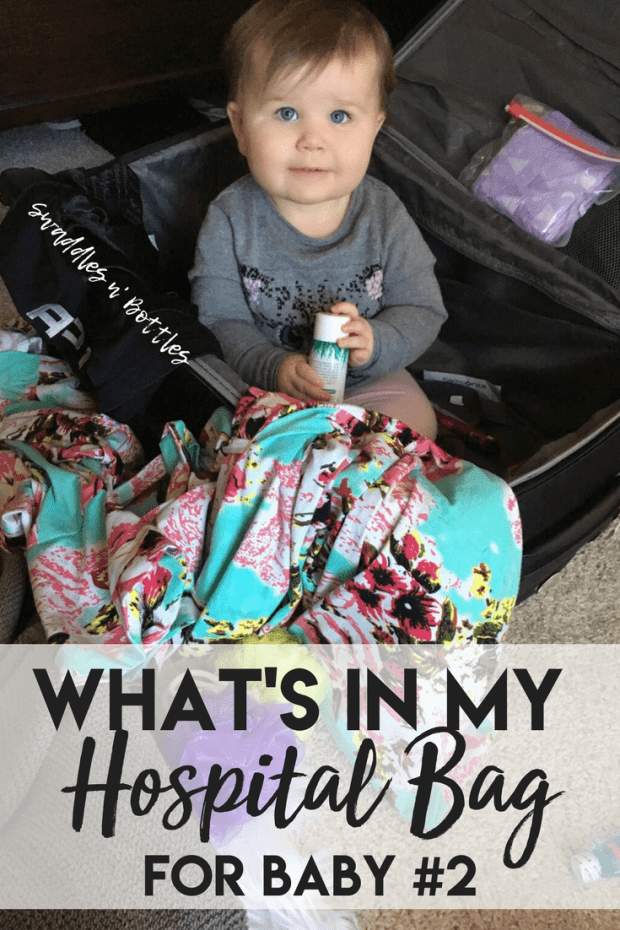 What's in my hospital bag the second time around