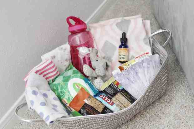 A breastfeeding Basket is an essential part of a breastfeeding station. Have everything you need within arms reach when nursing baby.
