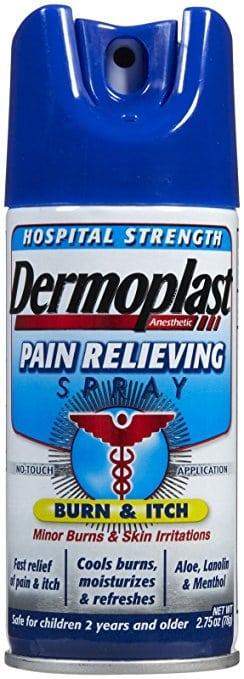 Dermoplast- postpartum spray for pain relief from stitches