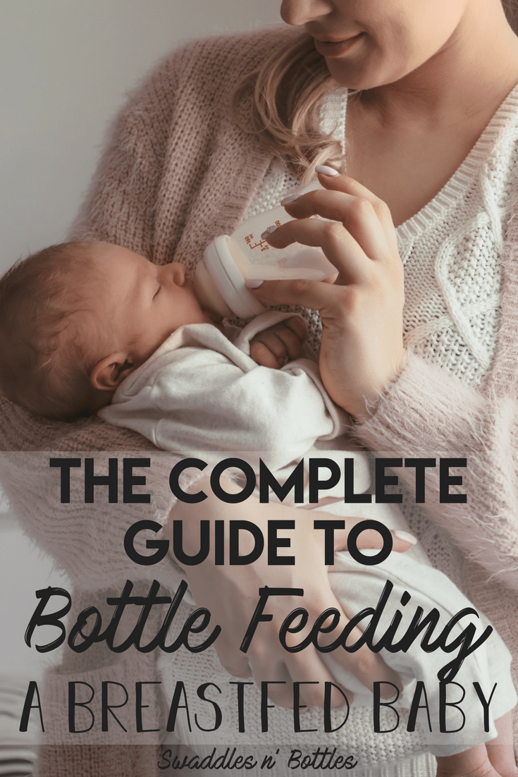 The complete guide to bottle feeding a breastfed baby, including troubleshooting tips for if baby refuses the bottle. Details on positional and paced feedings and what the best bottles are for introducing baby to a new feeding style.