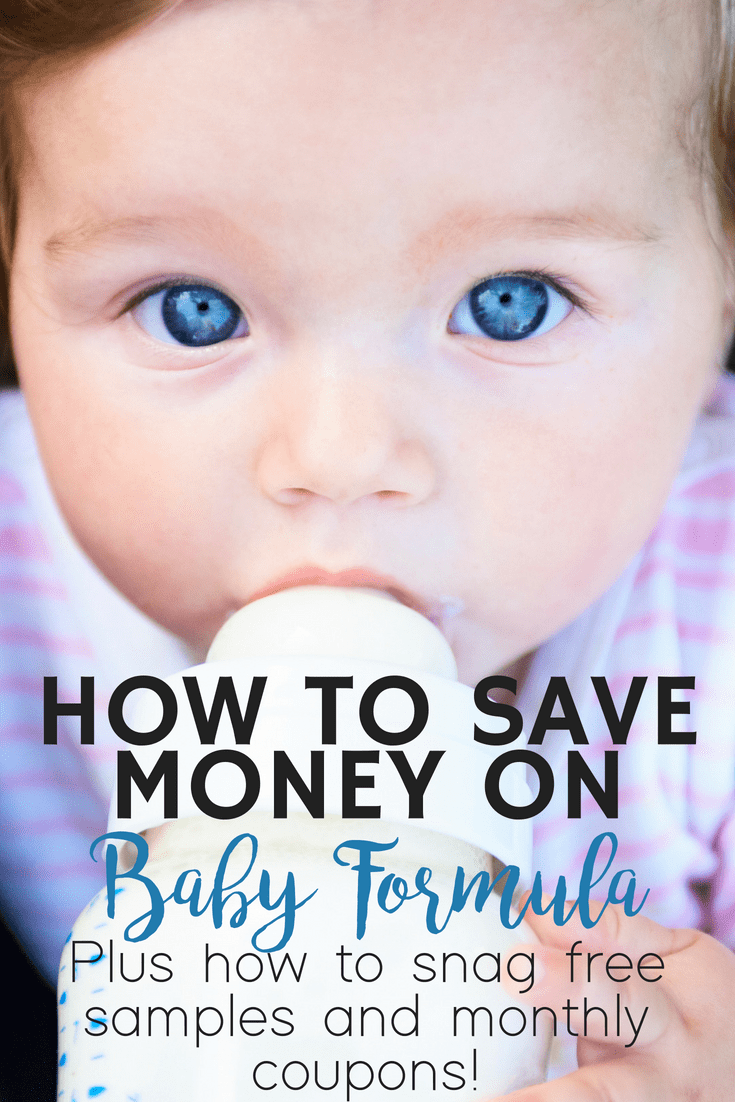 It's no secret that baby formula comes with a pretty hefty price tag. Luckily, there are a ton of ways you can save money on formula and get free samples and coupons sent straight to you!