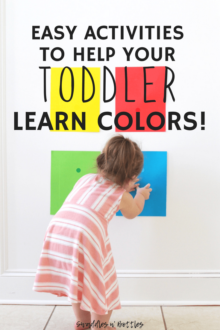 A great list of easy and fun activities for toddlers to learn their colors. We were able to do all of these with minimal prep and our two year old loved every single one of them!
