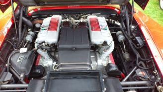 Ferrari Testarossa engine bay