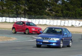 My Saab 9-3 Viggen (with its new owner)