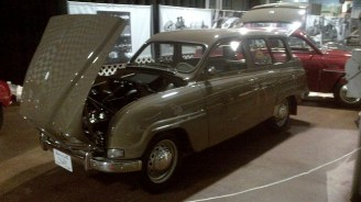 Saab Spirit Lives On exhibition