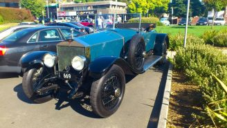 Rolls Royce at Classics By The Beach, Hobart