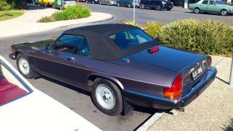 Jaguar XJS at Classics by the beach, Hobart