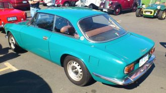 Alfa Romeo 1600 Junior at Classics By The Beach, Hobart