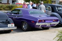 Purple Dodge - the ultimate muscle car