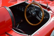Austin Healey racer - magnificent dashboard