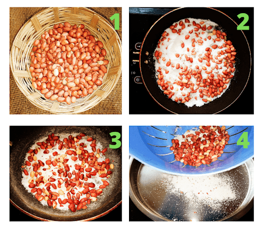 Recipe steps Picture  (विधि की चित्र)
