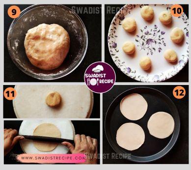 Hing ki poori Recipe Step 3