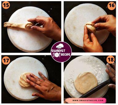 Lachcha paratha Recipe Step 5