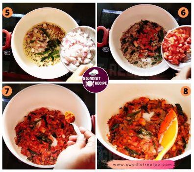 Masala Bhat Recipe Step 2