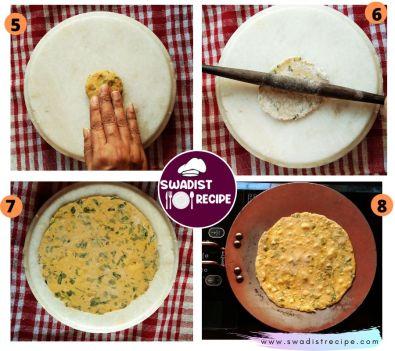 Methi Khakra Recipe step 2