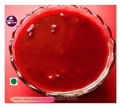 स्ट्रॉबेरी चटनी  चित्र 1