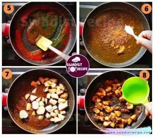 Alu Sabzi bedmi poori Recipe Step 2