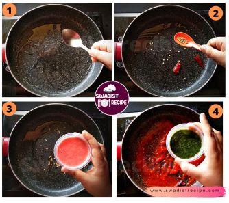 Alu Sabzi bedmi poori Recipe Step 1
