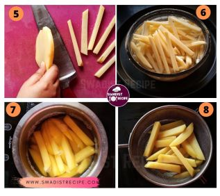 French Fries Recipe Step 2