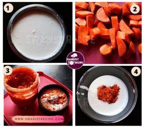 Gajar Idli Recipe Step 1