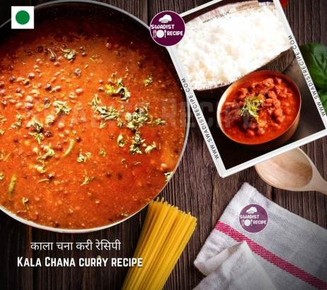 Satvik kala chana curry