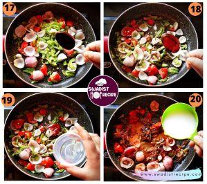 Soyabean Chilli Recipe Step 5