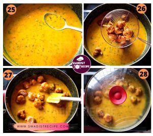Gujarati kadhi pakoda Recipe Step 7
