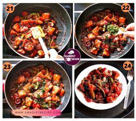 Idli chilli Recipe Step 6