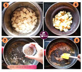Jeera Alu Recipe Step 2