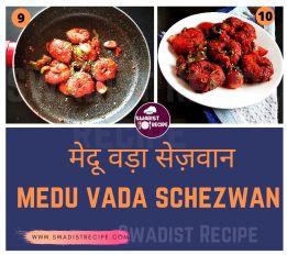 Medu vada schezwan Recipe Step 3
