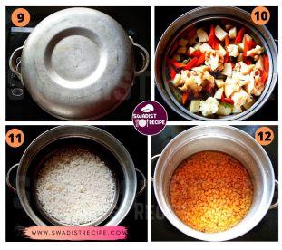 Satvik vaishnav thali Recipe Step 3