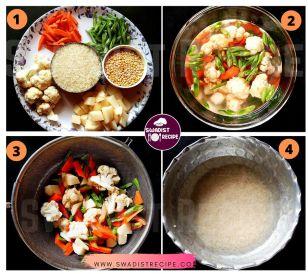 Satvik vaishnav thali Recipe Step 1
