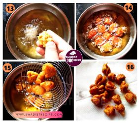 satvik Suran kofta Recipe Step 4