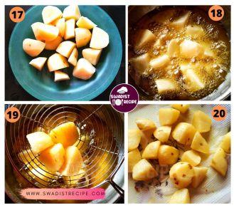 satvik Suran kofta Recipe Step 5