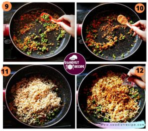 Veg MasalaMaggi Noodle Recipe Step 3