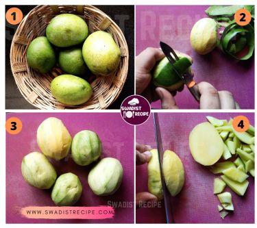 Mango Jam Recipe Step 1