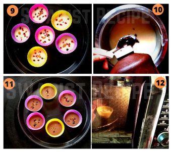 Eggless Muffins Recipe Step 3