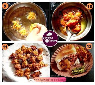 Kanda Bhaji Pav Recipe Step 3