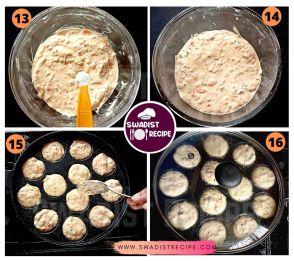 Suji ke Appe Recipe Step 4