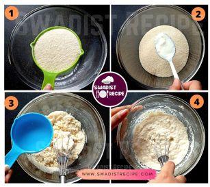 Suji ke Appe Recipe Step 1