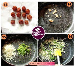 Veg manchurian Recipe Step 3