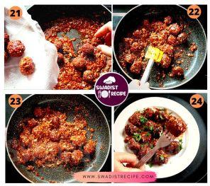 Veg manchurian Recipe Step 6